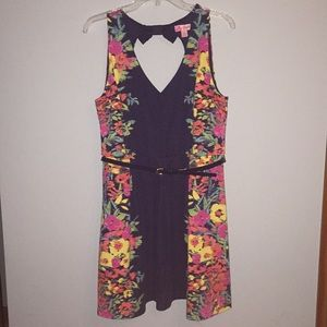 NWOT Candies floral dress